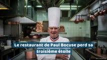 Le restaurant de Paul Bocuse perd sa troisième étoile
