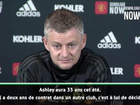 """Transferts - Solskjaer : """"Nous n'étions pas prêts à offrir deux ans de contrat à Young"""""""