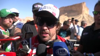 Comentarios de Fernando Alonso al final del Dakar 2020