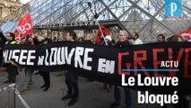 Blocage du Louvre : « J'ai fait 5000 km pour voir... une manifestation »