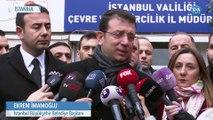 İmamoğlu: 'Kanal İstanbul İhanet Tarihi Hatadan Döndürmeye Çalışıyoruz'