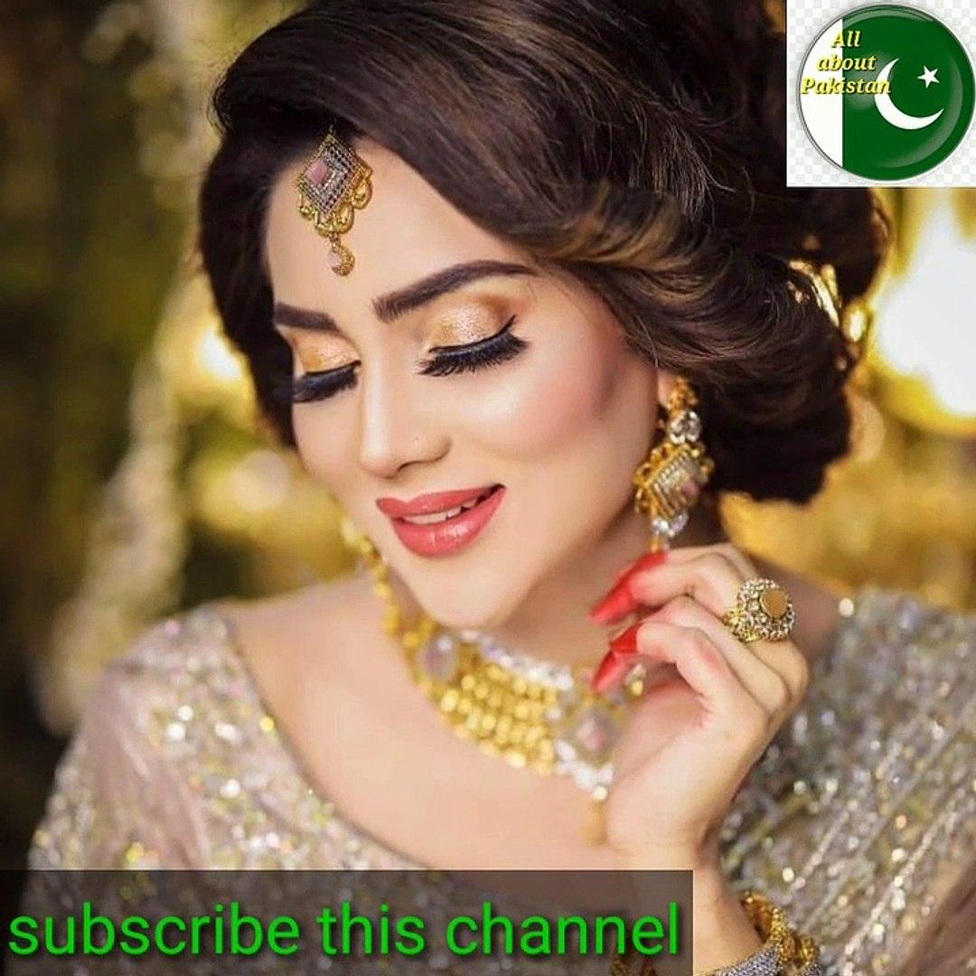 Latest Bridal Photo Shoot Of Fiza Ali All About Bushra Video Dailymotion