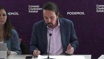 Pablo Iglesias convoca Vistalegre 3 en marzo para fulminar a los críticos