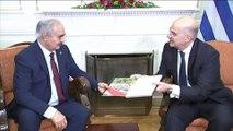 Ο Χαφτάρ στην Αθήνα: Διπλωματικός πυρετός εν όψει Βερολίνου