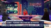 Climat : Roger Federer ciblé par des activistes - 17/01