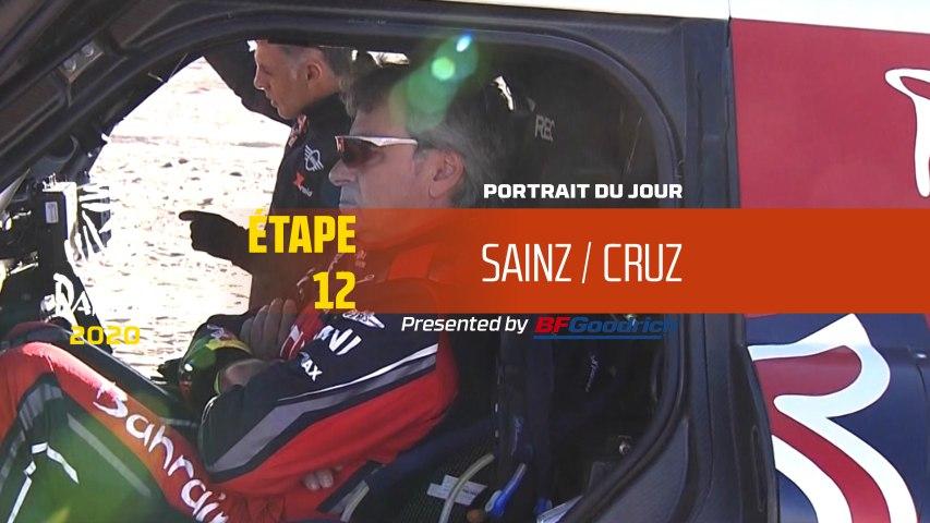 Dakar 2020 - Étape 12 - Portrait du jour - Sainz/Cruz