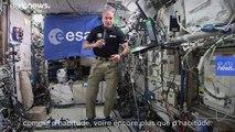 Luca Parmitano : des fêtes intenses à bord de la Station spatiale internationale
