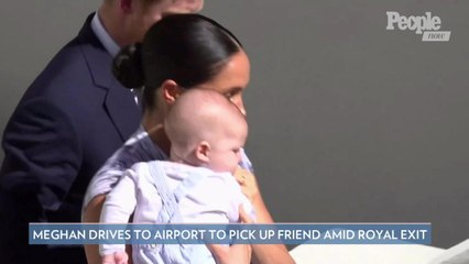 Meghan Markle Drives to Canadian Airport to Pick Up Friend from L.A. Amid Royal Exit
