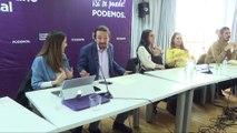 Iglesias convoca asamblea estatal de Podemos para marzo