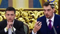 Ukrainischer Präsident Selenskyj lehnt Rücktritt seines Regierungschefs ab