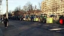 Bauernprotest: Unzählige Traktoren in mehreren deutschen Städten