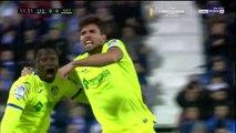 Gol de Cabrera para Getafe ante Leganés