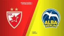 Crvena Zvezda mts Belgrade - ALBA Berlin Highlights | Turkish Airlines EuroLeague, RS Round 20