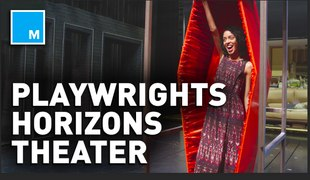 Go under the stage of the Playwrights Horizons theater – What's In The Basement