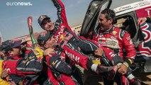 Carlos Sainz (57) zum dritten Mal Dakar-Sieger