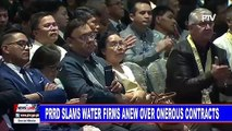 PRRD slams water firms anew over onerous contracts