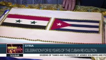 Damascus Marks 61 Years of Cuban Revolution