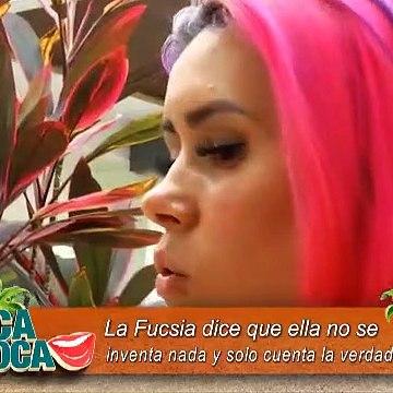 la Fucsia sobre la pelea de Mayra Jaime y Marcos Michelena