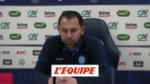 Gallon «Je suis frustré» - Foot - Coupe de France - Granville
