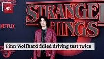 Finn Wolfhard Isn't A Driver