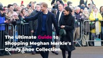 The Ultimate Guide to Shopping Meghan Markle's Comfy Shoe Collection