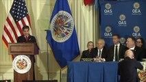 Pompeo apoia Almagro na OEA