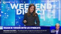 Manif anti-Macron devant un théâtre parisien (1/2) - 17/01