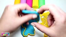 PJ Masks Play Doh Molds _ Surprise Toys Learn Colors Head Shoulders Knees Toes Johny Johny Yes Papa