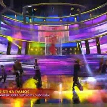 Cristina Ramos  Imita a Jennifer López (Let's  Get Loud) TCMS 8 (Gala 2)