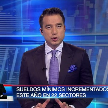 Fueron incrementados sueldos mínimos en 22 sectores