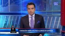 Fumigación habría afectado a escuela en guayaquil