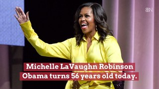 Michelle Obama's Celebrates Her Birthday