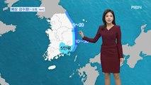 큰 추위 없지만, 미세먼지↑…동해안 오후까지 비·눈