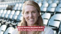 Alyssa Nakken Makes Baseball History