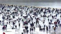[날씨] 주말, 대체로 맑고 포근...빙어와 드론 축제 / YTN