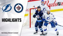 NHL Highlights   Lightning @ Jets 01/17/20