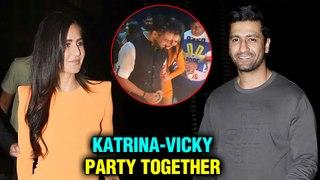 Katrina Kaif And Vicky Kaushal Come Together For Ali Abbas Zafar's Birthday   INSIDE Videos