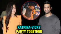 Katrina Kaif And Vicky Kaushal Come Together For Ali Abbas Zafar's Birthday | INSIDE Videos