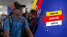 Tổng thư ký LĐBĐVN Lê Hoài Anh đón ĐT U23 Việt Nam sau hành trình VCK U23 Châu Á 2020 | VFF Channel