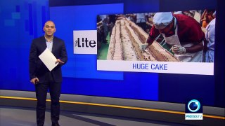Indian chefs make 'world's longest cake'