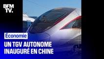 La Chine inaugure son premier TGV roulant à 350 km/h sans conducteur