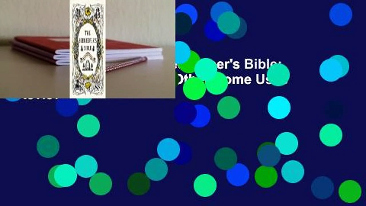 About For Books  The Beekeeper's Bible: Bees, Honey, Recipes & Other Home Uses  Review