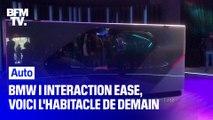 BMW i Interaction EASE : l'habitacle de demain