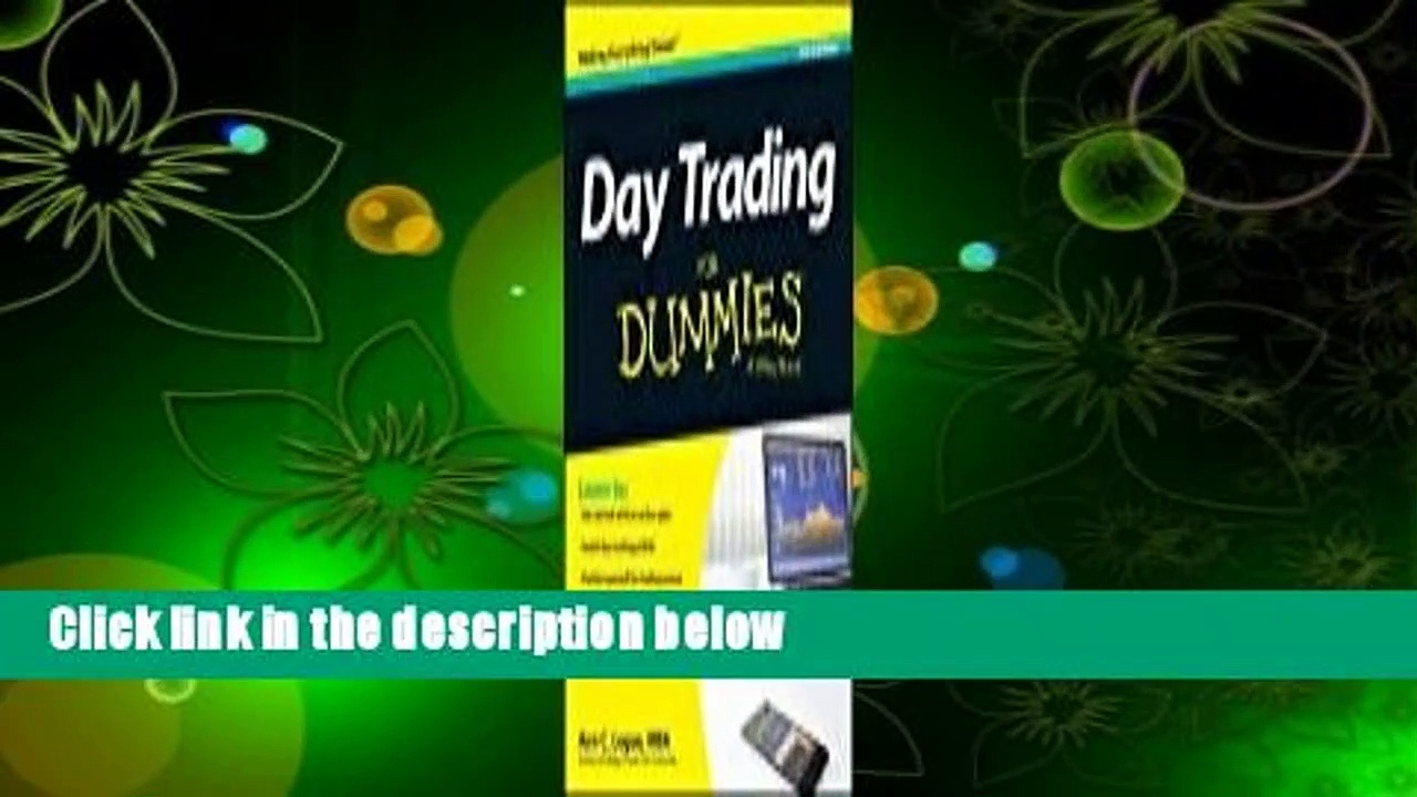 [Read] Day Trading for Dummies, 3rd Edition Complete