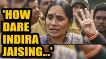 Nirbhaya's parents fume over Indira Jaising's suggestion to forgive Nirbhaya's rapists | Oneindia