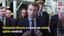 Paris : le couple Macron exfiltré d'un théâtre où des manifestants ont voulu pénétrer
