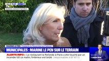 """Macron évacué d'un théâtre: selon Marine Le Pen, """"ces agissements doivent être condamnés, il révèle une montée en tension depuis 1 an et demi"""""""