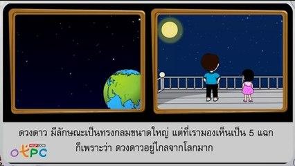สื่อการเรียนการสอน ดวงดาวป.1วิทยาศาสตร์