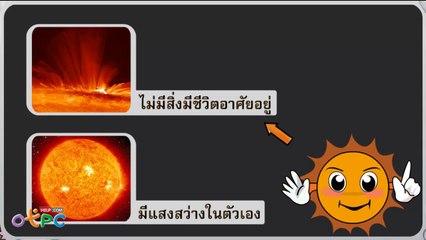 สื่อการเรียนการสอน ดวงอาทิตย์ป.1วิทยาศาสตร์