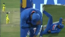 IND vs AUS 2nd ODI : Aston Turner shows the spirit of the game | ASTON TURNER | ROHIT SHARMA